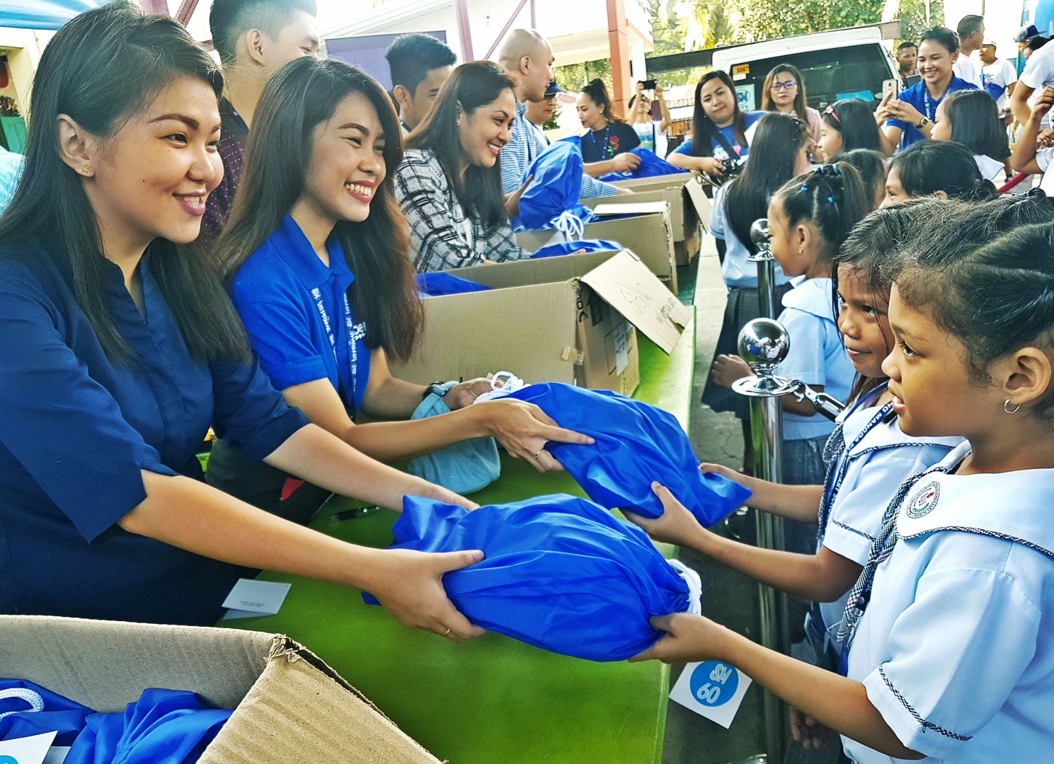 sm donates shoes in bulacan