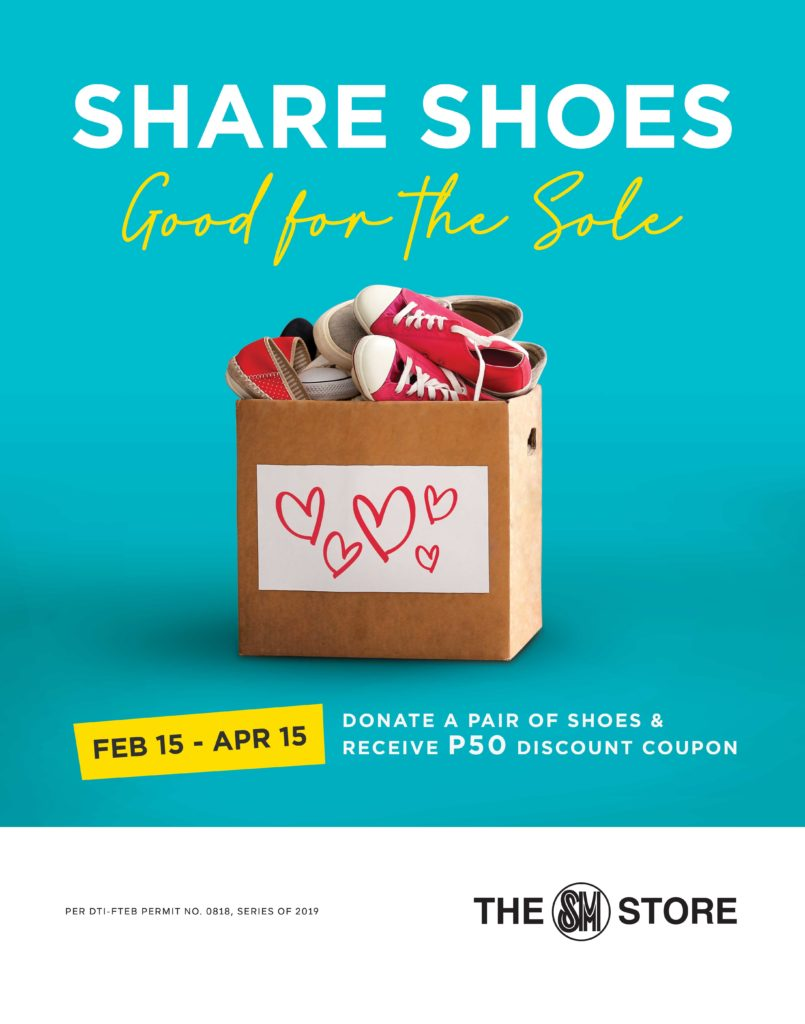 share shoes at sm