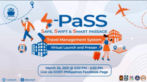 DOST's S-PaSS Travel Management System
