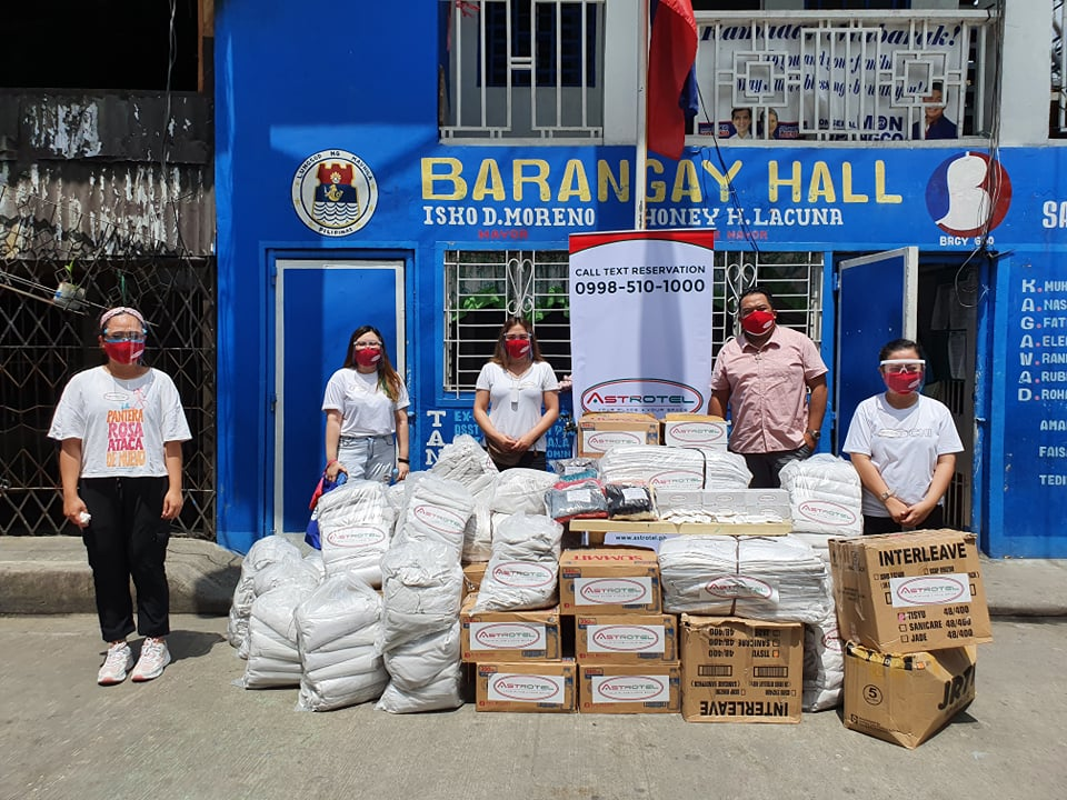 Astrotel Donation to Port Area